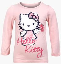 Outlet - Růžové triko s Hello Kitty zn. Sanrio+George