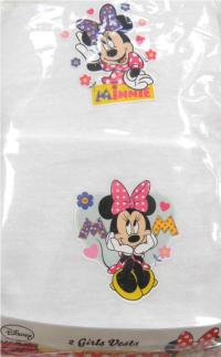 Outlet - 2pack nátělník s Minnie zn. Disney
