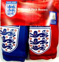 Outlet - 2pack boxerky zn. England
