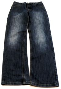 Modré straight rifle zn. Denim