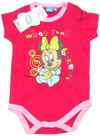 Outlet - Růžové body s Minnie zn. Disney