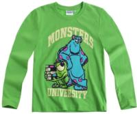 Nové - Zelené triko s Monsters University zn. Disney