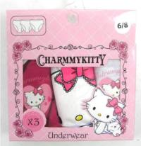 Outlet - 3pack kalhotky s CharmyKitty zn. Sanrio