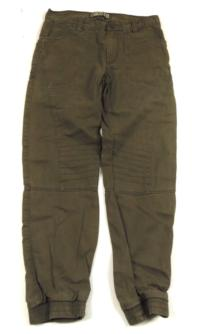 Khaki cargo fit rifle zn. Denim