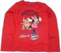 Outlet - Červené triko s Minnie zn. Disney
