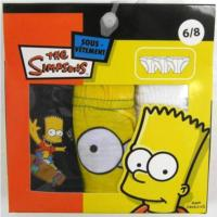 Outlet - 3pack slipy se Simpsons