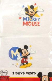 Outlet - 2pack nátělník s Mickeym zn. Disney