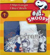 Outlet - 3pack slipy se Snoopym