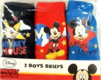 Outlet - 3pack slipy s Mickeym zn. Disney