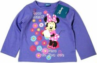 Outlet - Fialové triko s Minnie zn. Disney