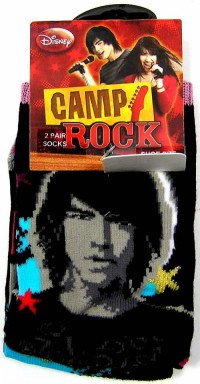Outlet - 2pack ponožky Camp Rock zn. Disney vel. 37-39