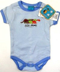 Outlet - Modré body s dinosaury