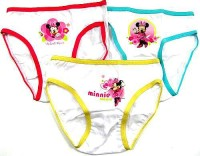 Outlet - 3pack kalhotky s Minnie zn. Disney