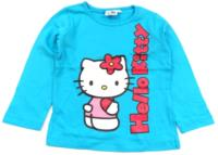 Outlet - Tyrkysové triko s Kitty zn. Sanrio
