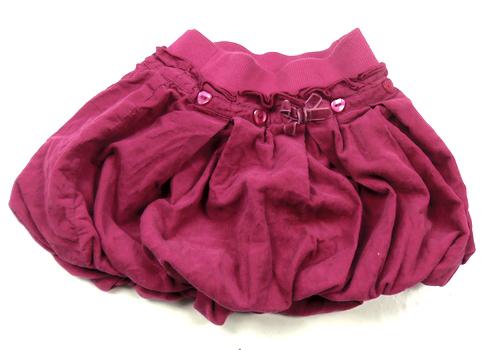 fba3f3070c9 Rubínová manžestrová balonová sukně St.Bernard