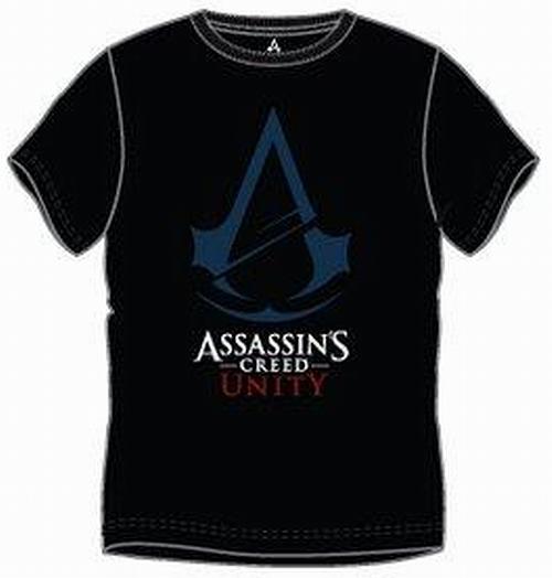 8d219fdc407 Nové - Pánské černé tričko s potiskem Assassin s Creed Unity vel. M
