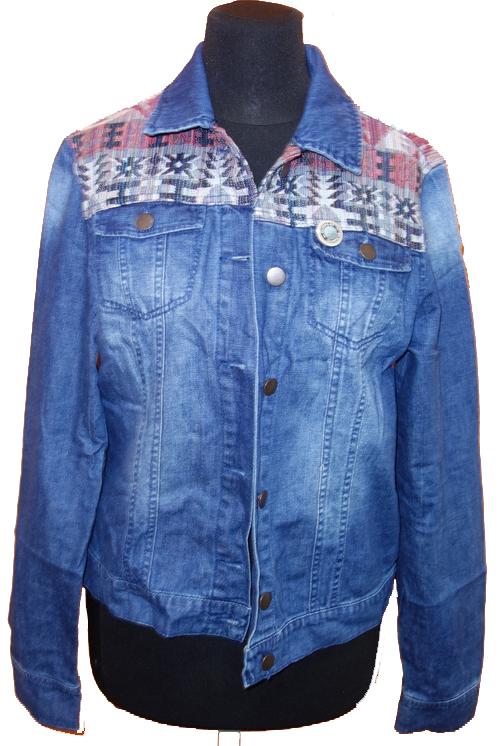 59cdad3262d1 Dámská modrá riflová bunda Dorothy Perkins