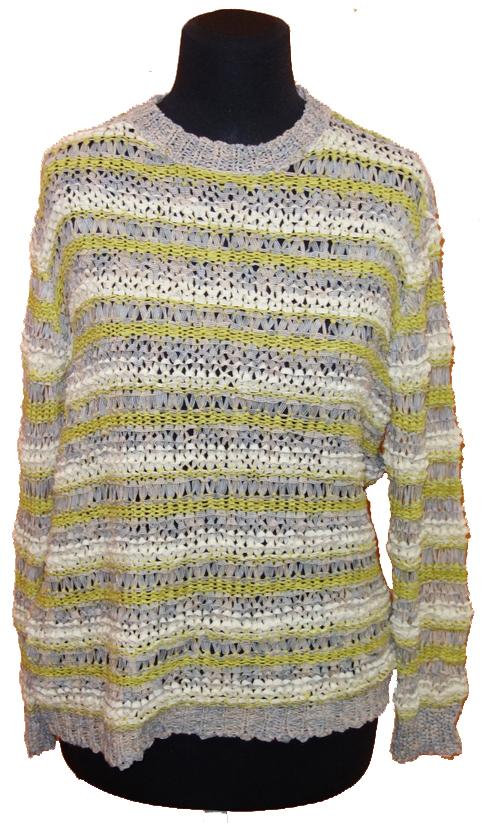 1a80b022730 Dámský barevný vzorovaný svetr Asos