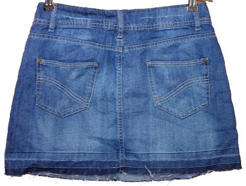 9df53eb40da Dámská modrá riflová sukně F F